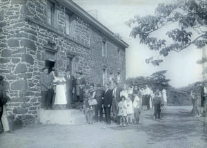 The founding members of the Pennsauken Historical Society at Burrough-Dover House. The Historical Society is celebrating its 50 anniversary at a special event on June 13 from 12:00 to 4:00 p.m., held at the historic home at 9201 Burrough-Dover Ln.