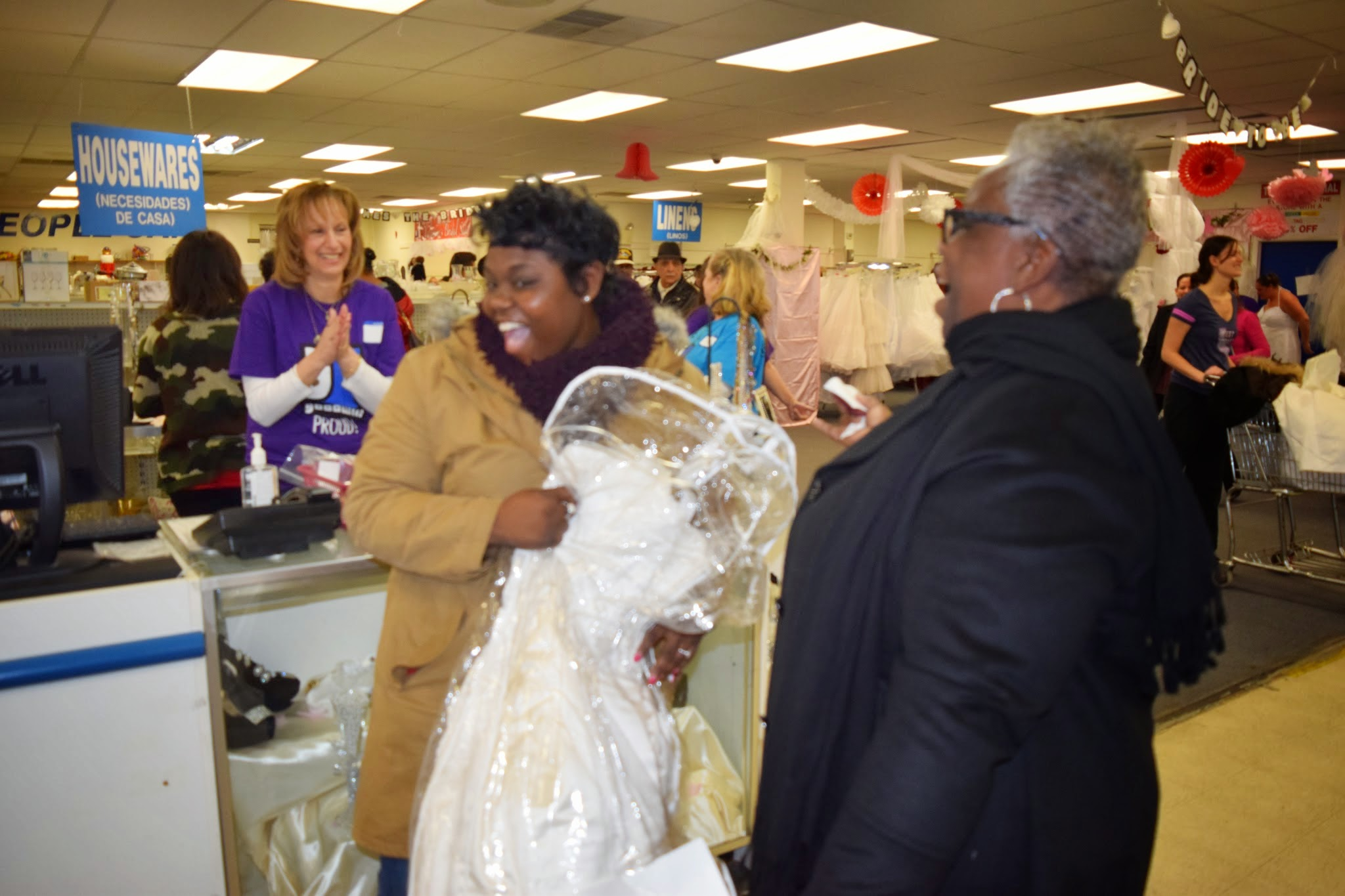 Running Of The Brides Tradition Continues At Goodwill All Around
