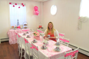 The goal of longtime resident Sue McCleery, owner of the newly opened My Little Sweet Tea Parties, is to create one-of-a-kind events for a child's special day.