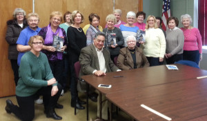 """The Woman's Club of Merchantville's book club discussed, """"The Boy Who Said No,"""" written by Patti Sheehy. The book tells the story of Frank Medero, who was 12 when Castro took power in Cuba. By age 19, Medero made his escape to America. Sheehy and Medero were on hand to join in the discussion."""