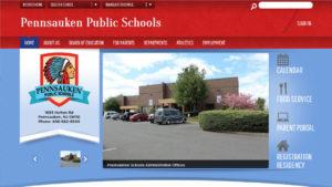 Pennsauken School District launched a new web site design for Pennsauken.net last May.