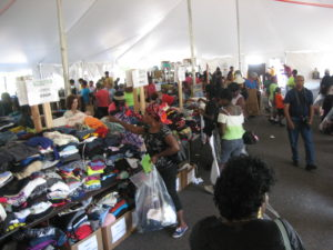 Living Faith Christian Center in Pennsauken is hosting their annual free market on Saturday, Aug. 20 from 10:00 a.m. to 2:00 p.m.