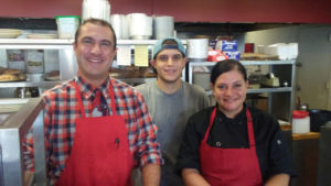David, Tyler, Dina, and the staff at Rita Marie's Eatery and Pizzeria offer great menu items made with extremely fresh ingredients and served in a family-friend atmosphere.