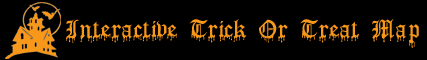Interactive Trick or Treat Map