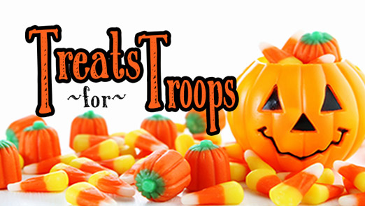 pennsauken is an official drop off site for halloween candy to benefit the treats for troops program hosted by soldiers angels a national non profit that